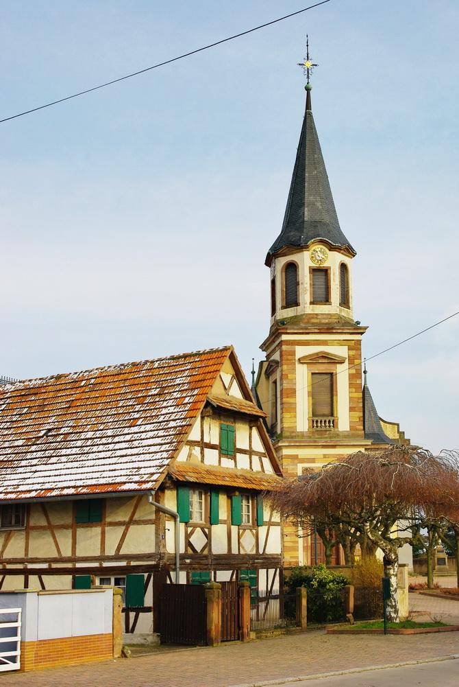 Reichstett Alsace Paysages De Notre Belle France Par