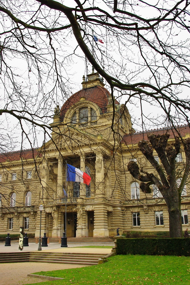 Paysages centre ville strasbourg for Paysage de ville